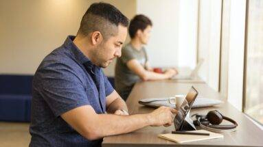 FDOT Provider - Virtual Training at cafe with MOT admin