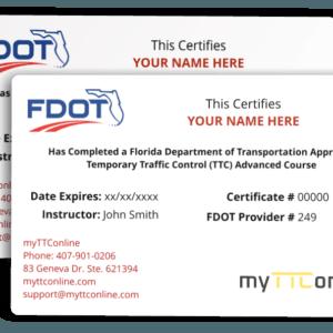 FDOT TTC Wallet Card